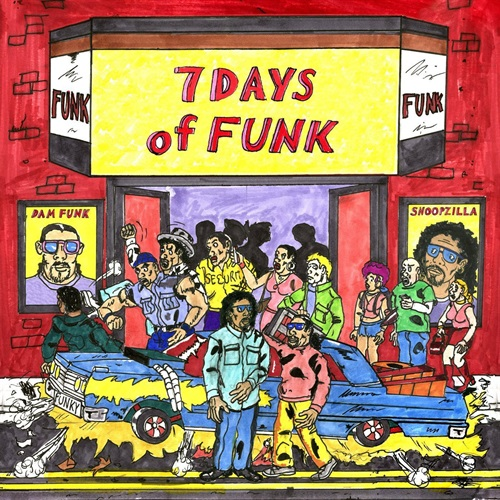 7 DAYS OF FUNK  (USED)