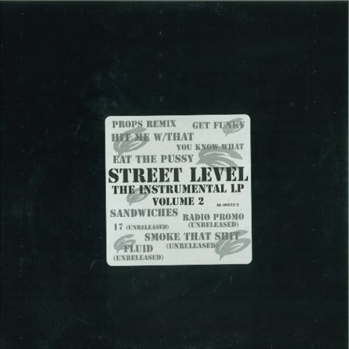 STREET LEVEL - THE INSTRUMENTAL LP VOLUME 2 (USED)