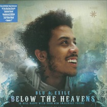 BELOW THE HEAVENS(LTD BLUE WAX - 2LP+7INCH) (USED)