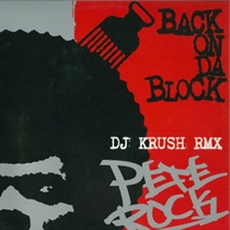 BACK ON DA BLOCK(DJ KRUSH RMX) (USED)