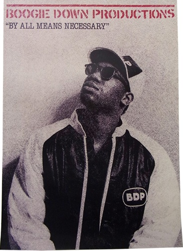 BOOGIE DOWN PRODUCTIONS POSTER