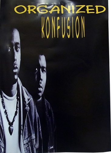ORGANIZED KONFUSION POSTER