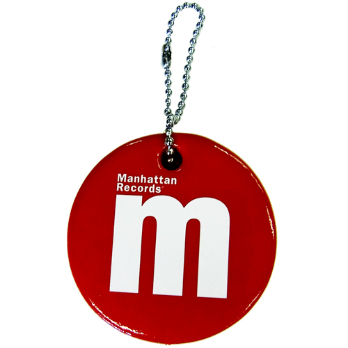 MANHATTAN FLOATING KEY HOLDER (RED)