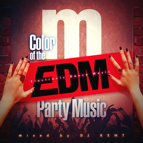 COLOR OF THE EDM PARTY MUSIC