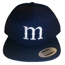 Manhattan Baseball Snapback (navy)