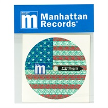 MANHATTAN RECORDS × MAGIC STICK CONTROL VINYL STICKER