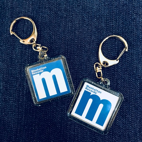 M LOGO KEY HOLDER