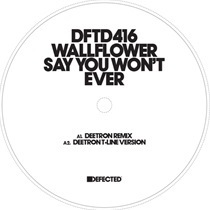 Say You Won't Mind Ever (incl Deetron Remix)