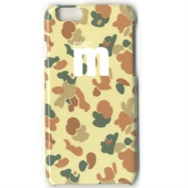 Iphone6 4.7inch / Camo Pattern (Brown)