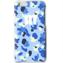 iPHONE 6 CASE(4.7INCH) CAMO PATTERN BLUE