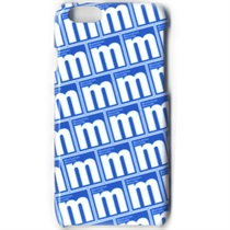 Iphone6 4.7inch / m Logo Pattern (Blue)