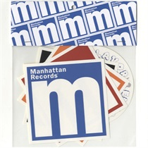 Manhattan Logo Sticker Set
