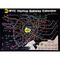 Myc Hip Hop Subway Calendar 2015