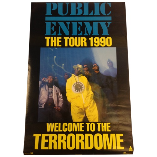 WELCOME TO THE TERRORDOME POSTER(VINTAGE)