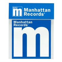MANHATTAN LOGO STICKER (LARGE)