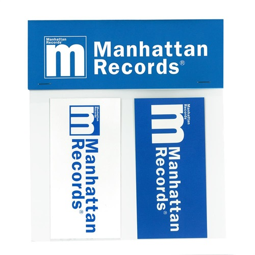 MANHATTAN LOGO STICKER (SMALL)