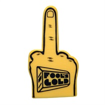 Fools Gold Foam Finger