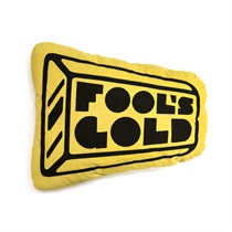 Fools Gold Logo Pillow