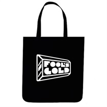 Fools Gold Logo Tote (black/white)