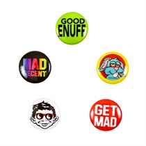 Mad Decent Button Pack