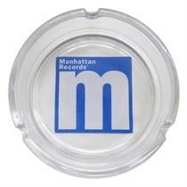 MANHATTAN LOGO ASHTRAY