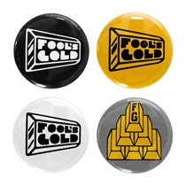 Fools Gold Logo 1 Pin Set
