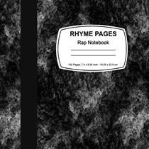 RHYME PAGE RAP NOTEBOOK