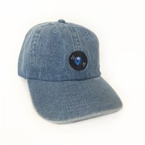 VINYL LOGO LOW CAP(DENIM)