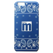 iPHONE 6 CASE(4.7INCH) PAISLEY BLUE