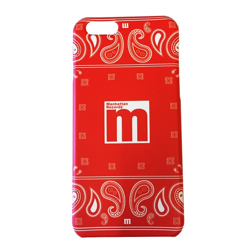 iPHONE 6 CASE(4.7INCH) PAISLEY RED