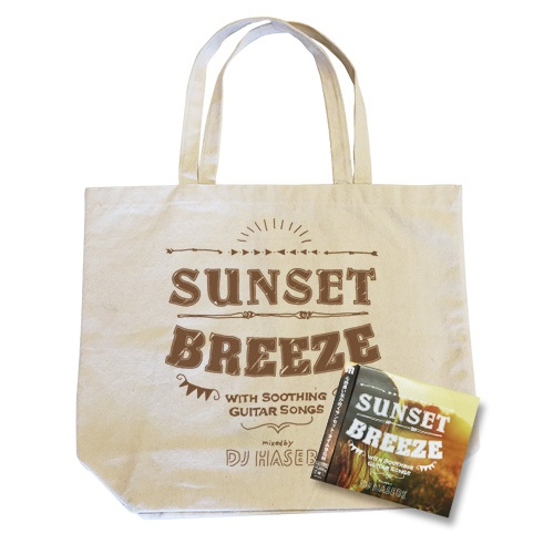 SUNSET BREEZE -WITH SOOTHING GUITAR SONGS- (CD+トートバッグセット)