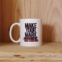 VINYL/MAKE YOUR MARK MUG