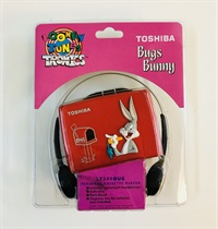 BUGS BUNNY PORTABLE CASSETE PLAYER
