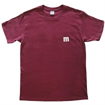 "M-TEE ""SIMPLE"" MAROON(XL)"