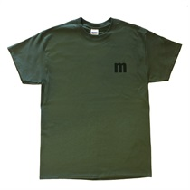 "M-TEE ""SIMPLE"" MILITARY GREEN(XL)"