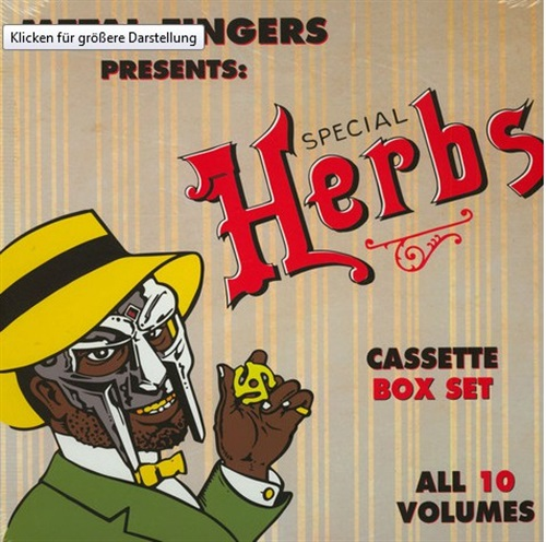 SPECIAL HERBS: (5XCASSETTE BOX SET)