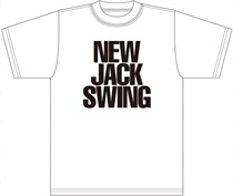 NEW JACK SWING T-SHIRT/WHITE/XL
