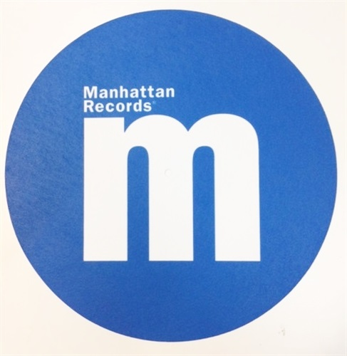 MANHATTAN RECORDS SLIPMAT SET