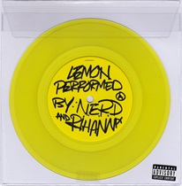 LEMON RIHANNA VINYL YELLOW
