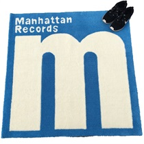 MANHATTAN RECORDS RUG MAT