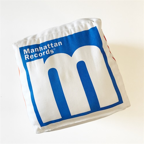 MANHATTAN RECORDS CUSHION
