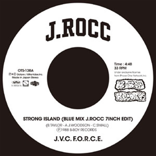 STRONG ISLAND (BLUE MIX J.ROCC 7INCH EDIT) / STRONG ISLAND (ACAPELLA J.ROCC 7INCH EDIT)