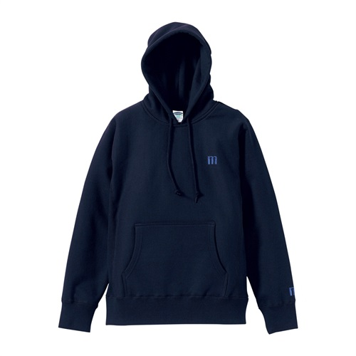 M LOGO PULLOVER HOODIE NAVY(L)