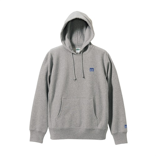 M LOGO PULLOVER HOODIE GRAY(XL)