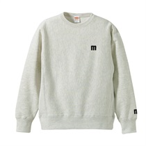 M LOGO SWEAT OATMEAL(XL)