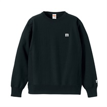 M LOGO SWEAT BLACK(XL)