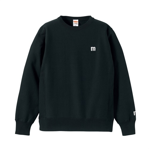 M LOGO SWEAT BLACK(M)