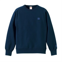 M LOGO SWEAT NAVY(L)