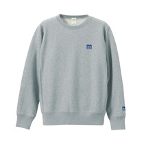 M LOGO SWEAT GRAY(M)