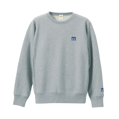 M LOGO SWEAT GRAY(L)